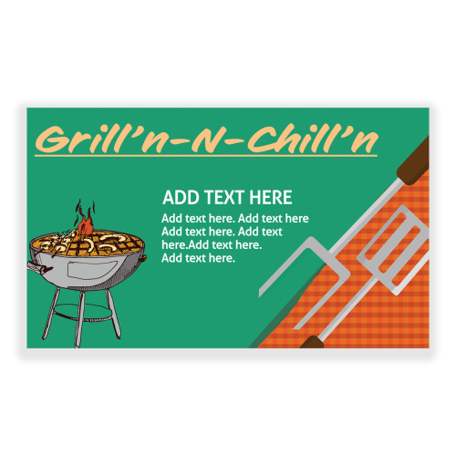 Family Reunion 5x3 Banner Grill n Chill