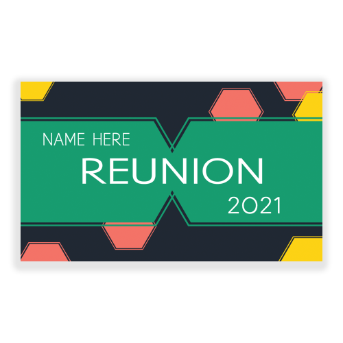 Family Reunion 5x3 Banner Octagons
