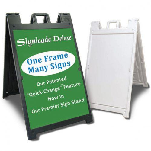 A Frame Sidewalk Signs