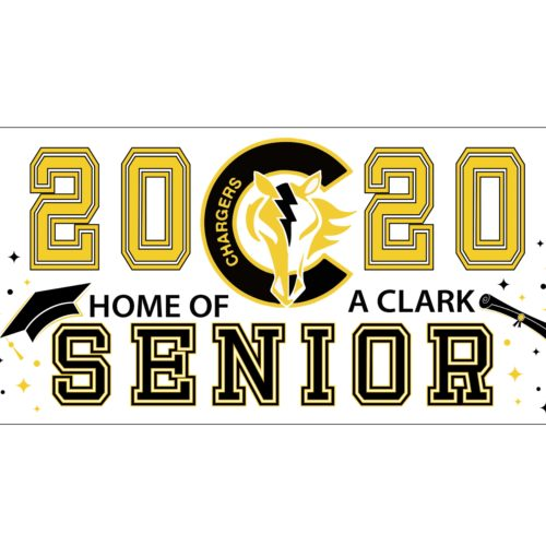 Clark High School Senior Banner