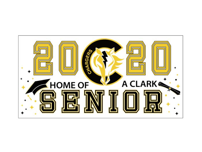 Clark High School Senior Banner
