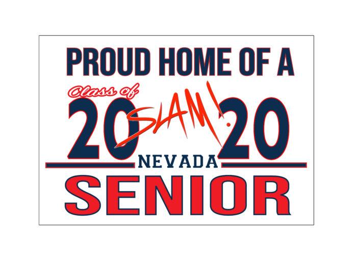 SLAM High School Senior Yard Sign