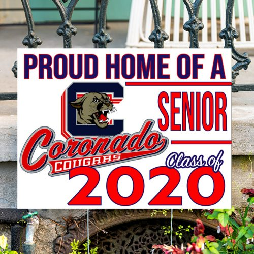 Coronado High School Yard Sign