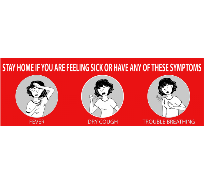Stay Home If You Are Sick