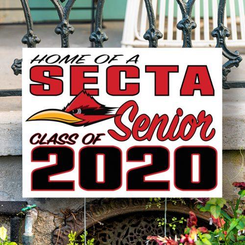 SECTA High School Yard Sign