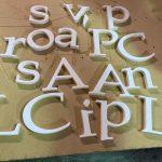 CNC letters