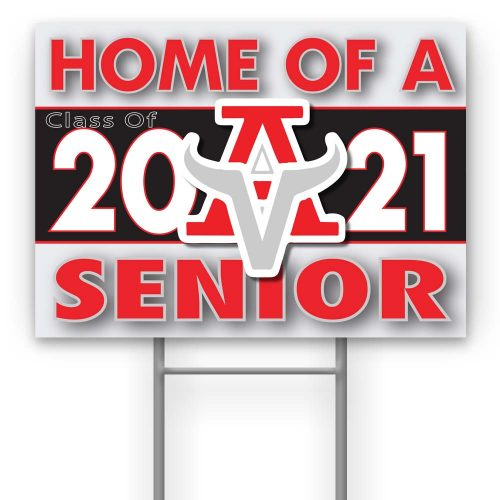 Arbor View High School yard sign