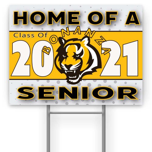 Bonaza High School Yard Sign
