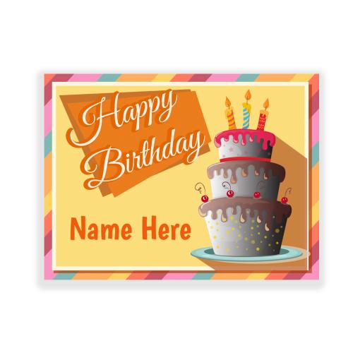 Custom Birthday Yard Sign Cake