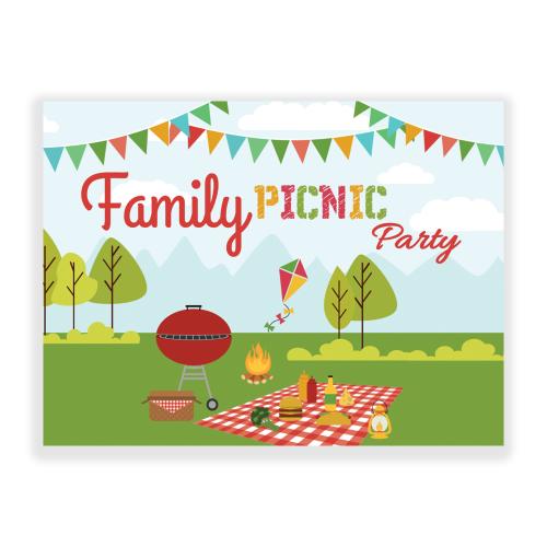 Family Reunion yard Sign Picnic
