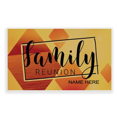 Reunion 5x3 Banner Gold