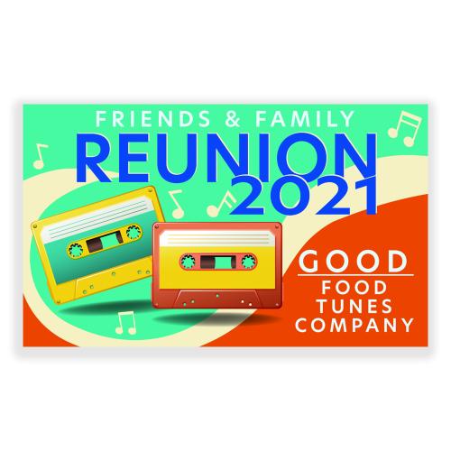 Reunion 5x3 Banner Music